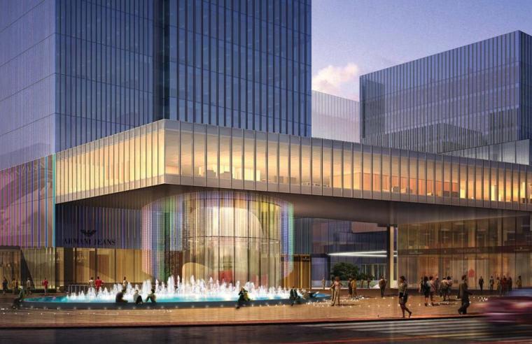 [上海]长风商业办公+住宅区景观设计方案
