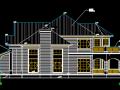 HD别墅建筑施工图(含多套方案)