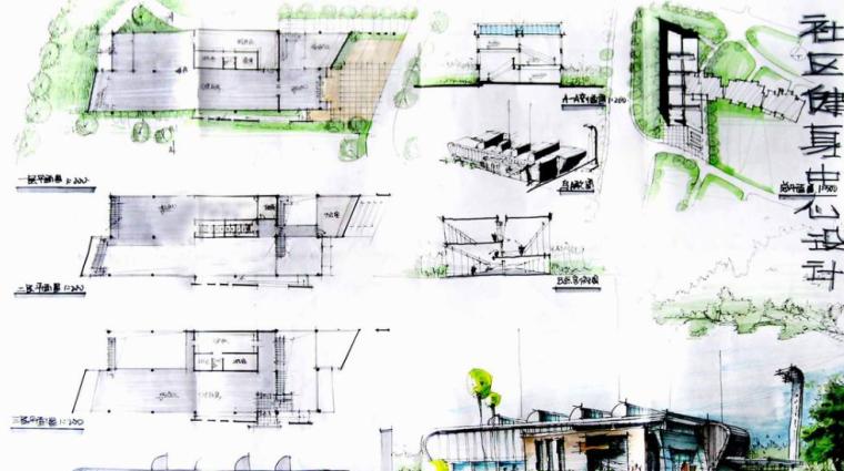 180张超经典建筑快题设计方案_8