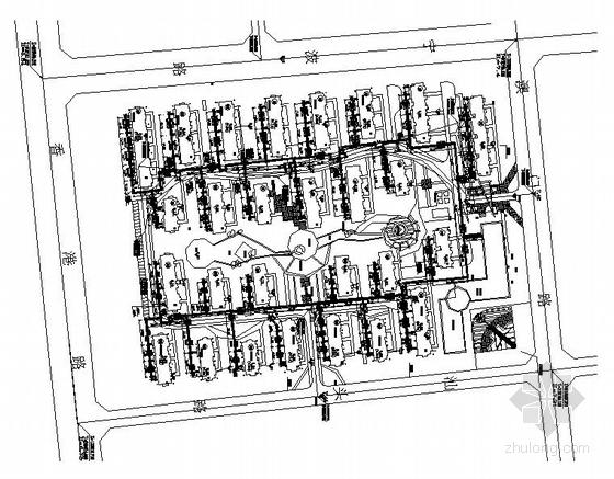 某小区供热外网设计施工图