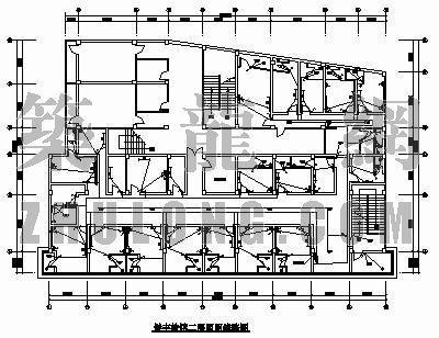 旅馆消防报建电气设计图