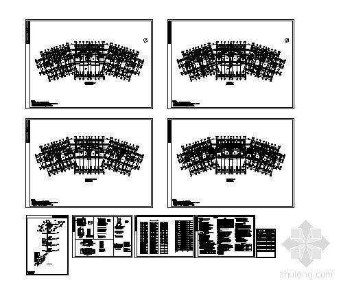 某五层住宅小区采暖设计图纸