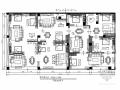 451平米高端家具品牌现代风格专卖店室内装修施工图