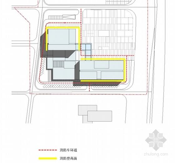 [湖南]点式塔楼高层科技办公大厦建筑设计方案文本-点式塔楼高层科技办公大厦分析图