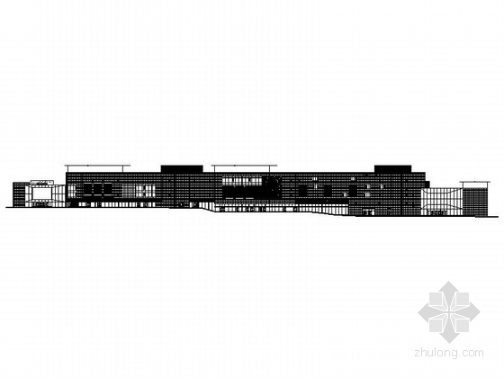 [吉林]著名商业广场步行街及住宅楼建筑施工图(含结施 536张)