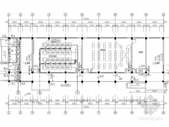 [浙江]学校综合楼给排水消防施工图