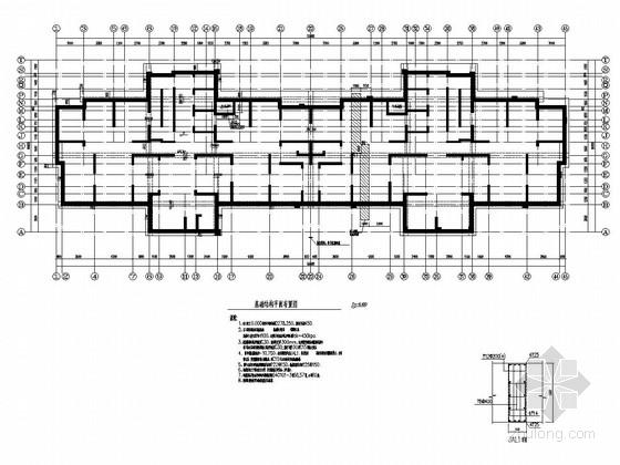 [西宁]28层剪力墙结构住宅楼结构施工图