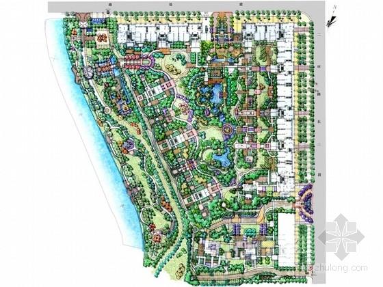 [辽宁]英伦风格住宅小区景观设计方案
