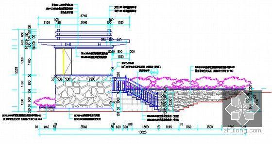 [广东]2015年安置房项目市政及绿化工程预算书(全套图纸)-立面图