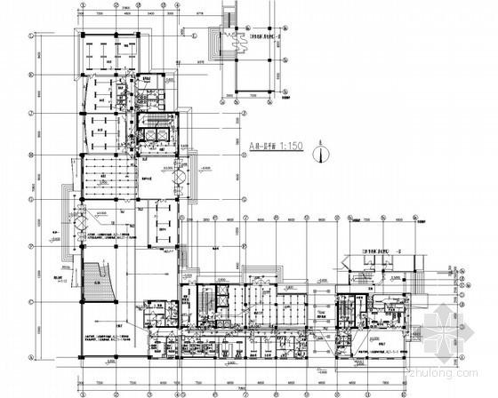[北京]培训中心综合楼全套电气施工图纸115张(含教学 餐饮娱乐 办公)