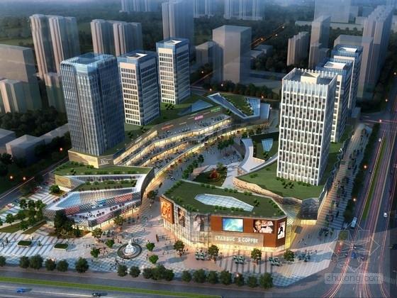 [河南]高层商业综合体建筑设计方案文本