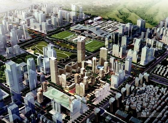 单体建筑酒店设计资料下载-[广东]城市综合体规划及单体建筑设计方案文本(双语文本)