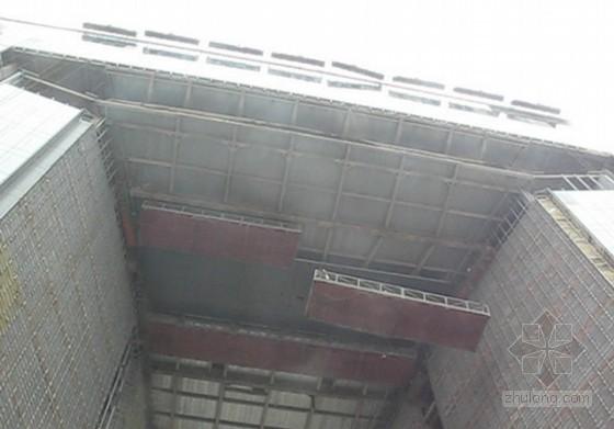 [天津]高层大跨度悬空结构幕墙安装施工技术(吊船平台)