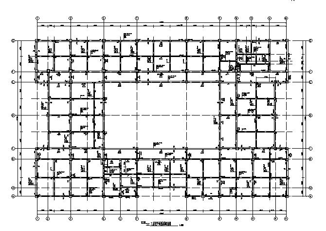 [江苏]5层框架结构办公楼结构施工图(2013)