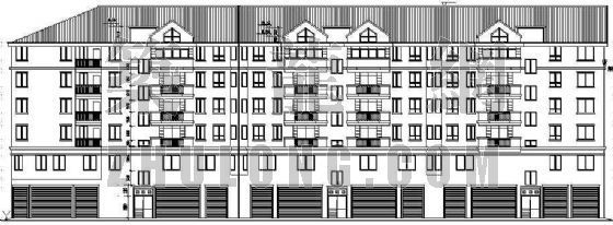 某多层商住楼建筑设计方案