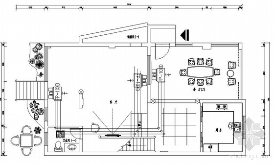 某三层别墅中央空调图