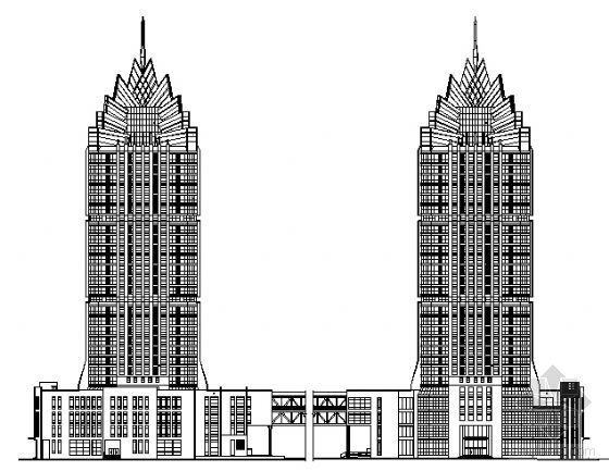 郑州意大利国际大厦建筑施工图