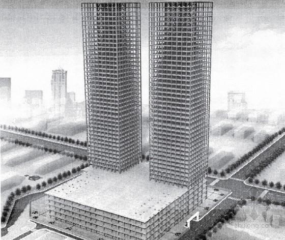 超高层建筑钢结构加工与安装技术研究