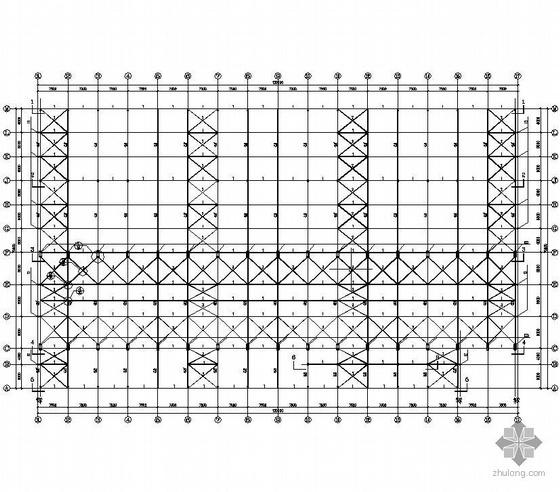 某电气公司钢结构变压器生产厂房结构图