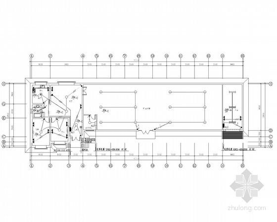 [大同]生态园及展棚电气施工图纸