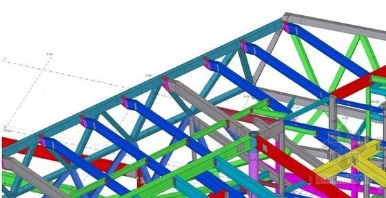 建筑工程无脊多坡异面屋盖钢结构成型施工工法