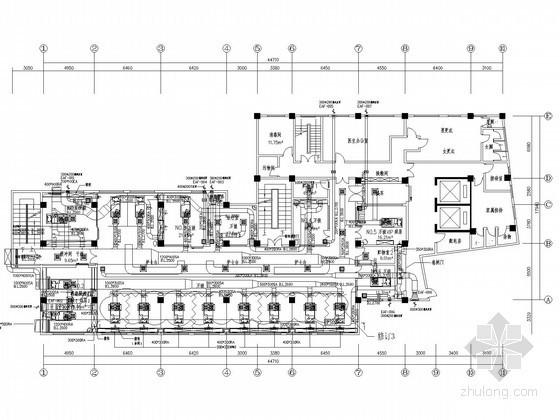 [广州]医院呼吸监护中心空调设计方案图纸