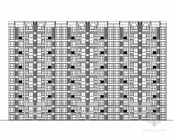 [四川]某小区住宅楼建筑施工图(含效果图)