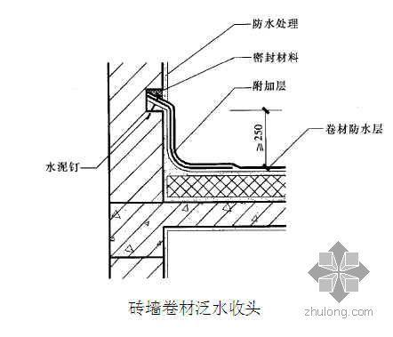 宝鸡某教育中心工程屋面施工方案(上人屋面 挤塑板 SBS卷材)