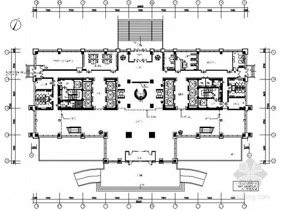 [乌鲁木齐]某石油现代指挥中心办公主楼设计图(含方案)