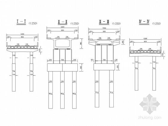 45+70+45m变截面连续箱梁桥全套施工图(70张)
