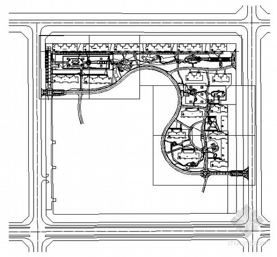 某住宅小区室外电气设计图纸