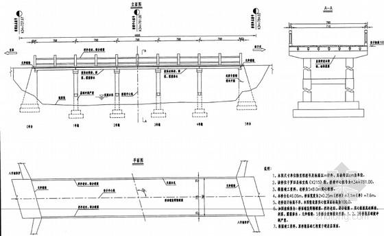 [湖北]7.6m宽钢筋混凝土简支实心板桥病害加固设计图18张(坑槽裂缝风化)