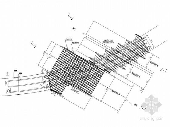 特大互通立交现浇箱梁支架设计图(11张)