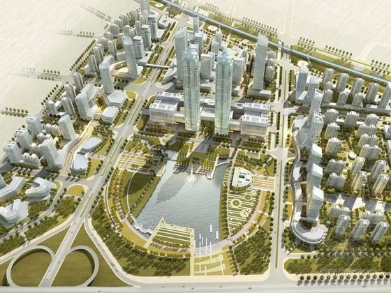 [河南]复合型企业经济集聚区概念性规划设计方案文本(知名建筑设计院)