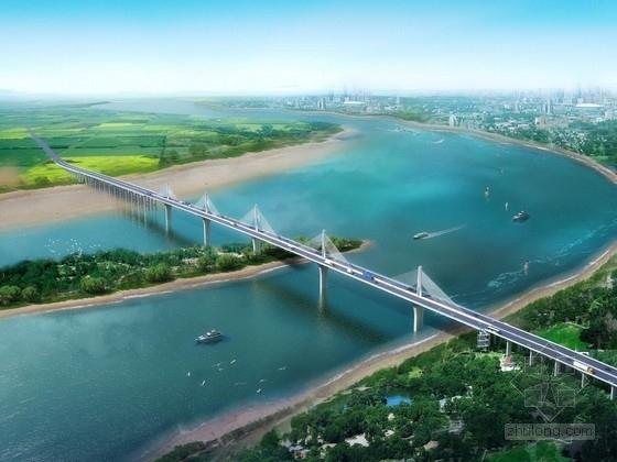[湖南]五塔斜拉桥及引桥工程二阶段施工图667页(现浇箱梁花瓶墩)