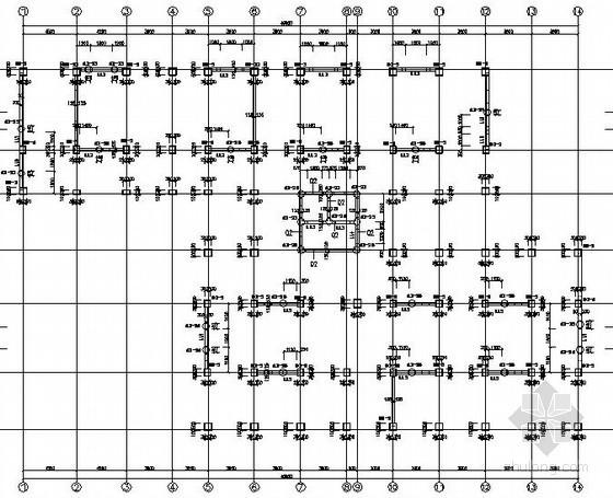 [宜宾]框剪结构公寓酒店施工图