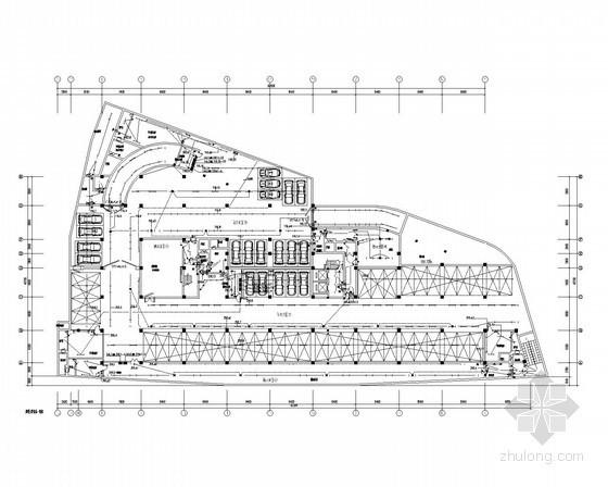 [南京]办公楼地下车库全套电气施工图纸