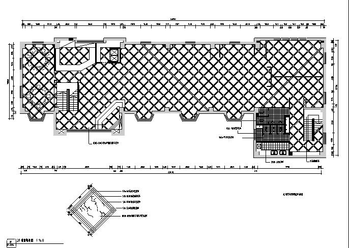 [新疆]欧式民族混搭风格餐饮空间设计施工图(附效果图)_2