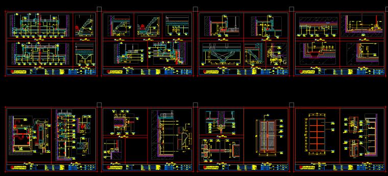 【浙江】2套混合风格新城样板间设计(附效果图+材料表)_4