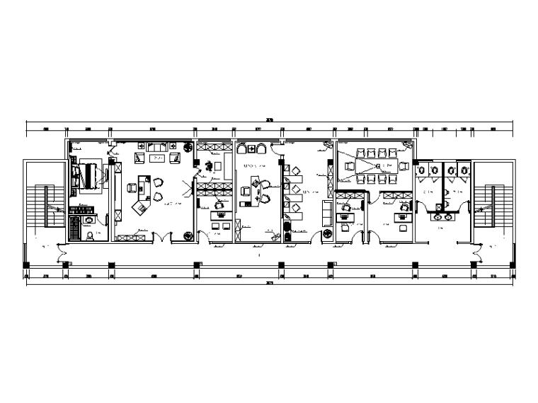 [江苏]全套简约设计办公室装修设计施工图