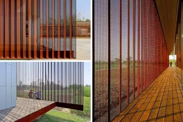 看建筑大师是如何使用锈钢板的?_23