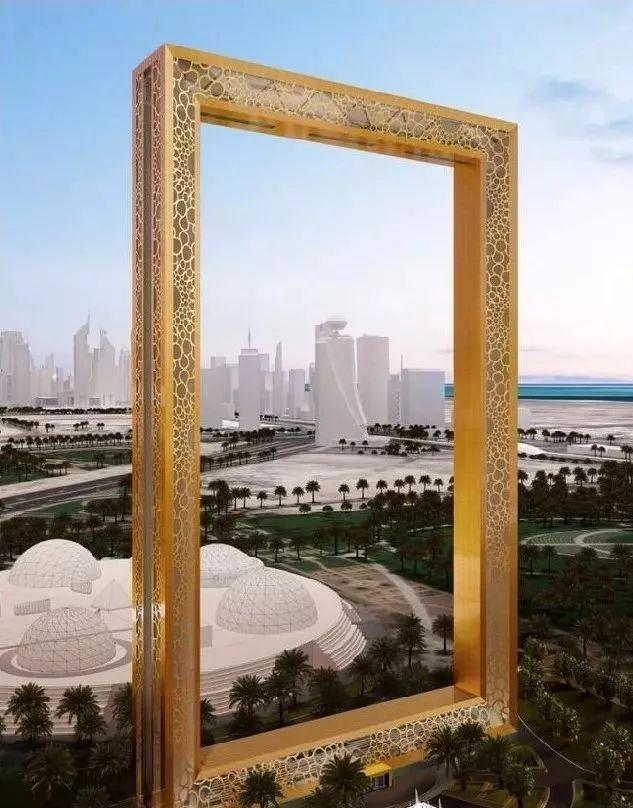 2018年迪拜用3个亿造了个冲破天际的相框_5