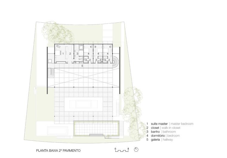 结构与空间融合的JardimdoSol住宅-39