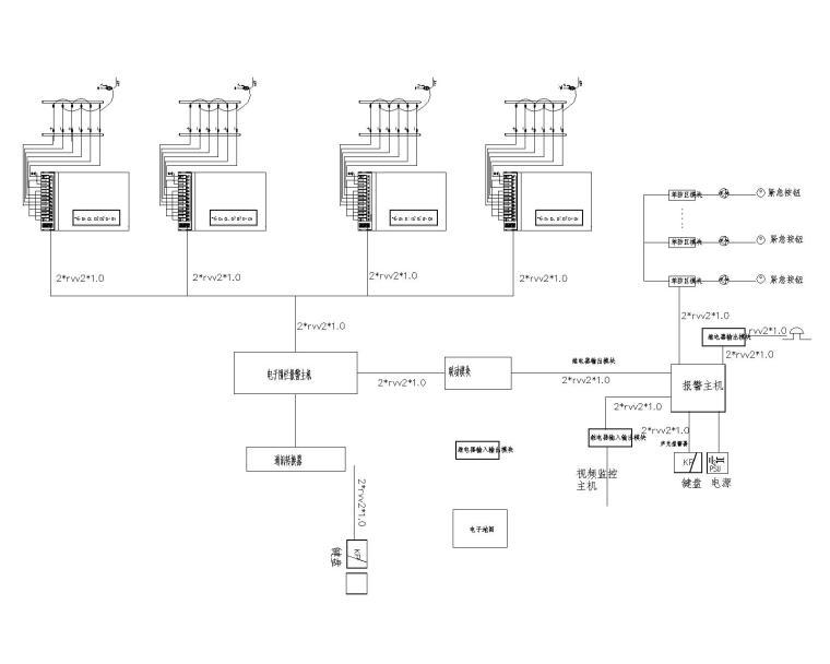 [上海]社会福利院养老院电气全套智能化系统工程图纸