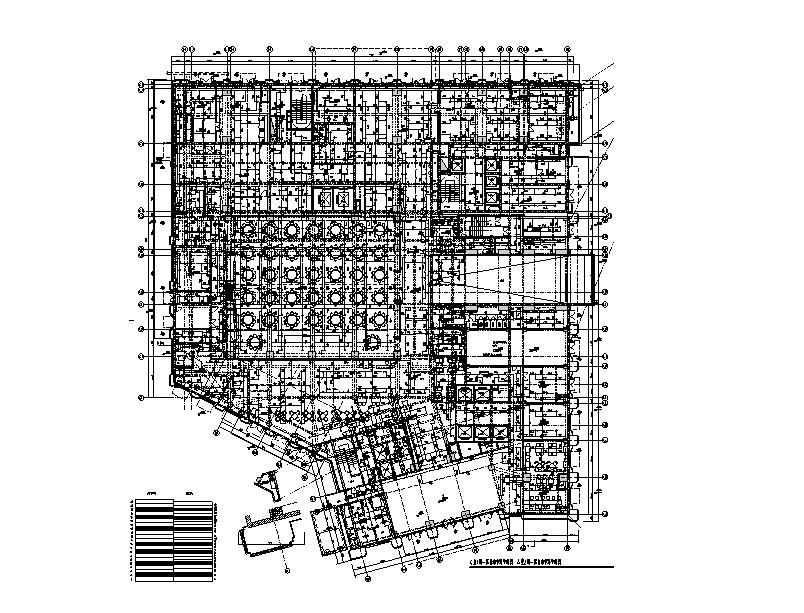 深圳26層大酒店給排水施工圖