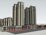 现代住宅SketchUp模型下载