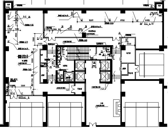 西安大明宫万达广场暖通设计施工图