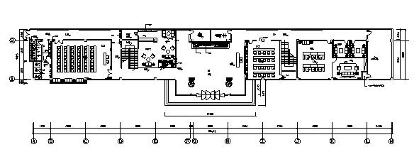 [山西]现代风格写字楼办公空间设计施工图(效果图+材料表)