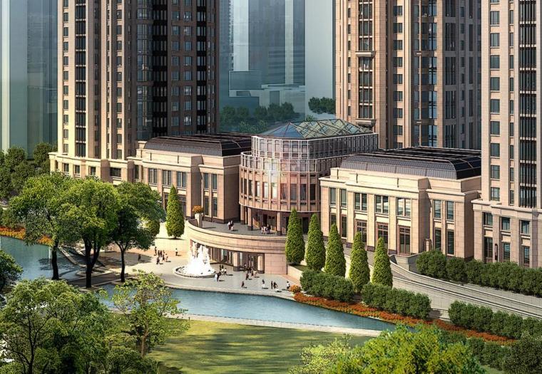 [天津]南市居住区建筑方案文本设计(PDF+CAD)