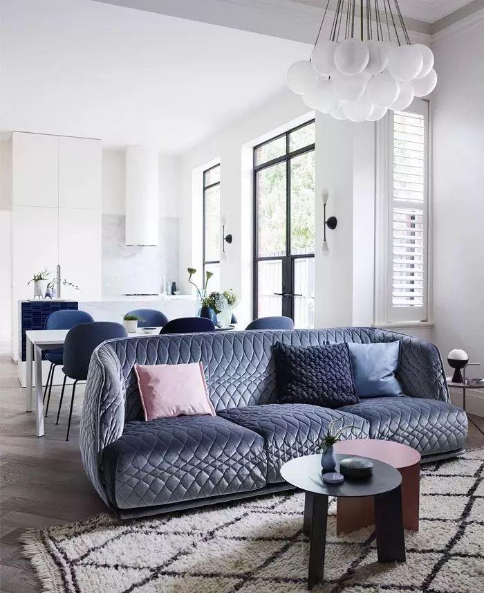 2019年灰色的最新家装设计搭配_23